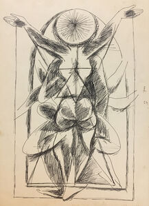 Untitled (Tantric Drawing 4)