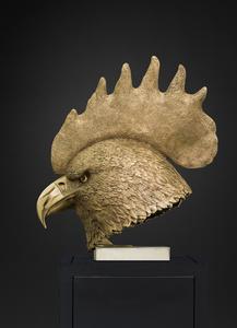 Tête aigle - coq
