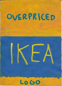 Overpriced Ikea Logo