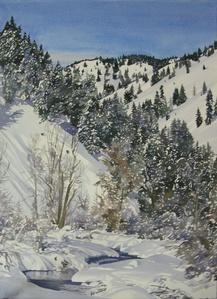 Warm Springs Creek Winter