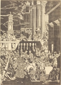 The Marriage at Cana [right plate]