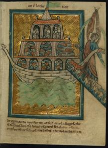 The Animals Enter Noah's Ark (Genesis 6:13-7:16)