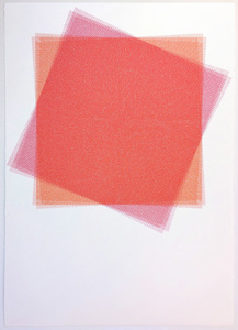 16 Layers, Red and Pink Square