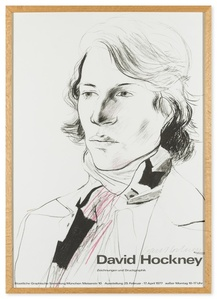 Poster for the Staatliche Graphische Sammlung, Munich