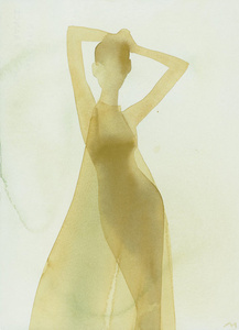Silhouette (Sheer evening dress)