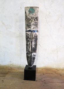 Raku Standing Stone
