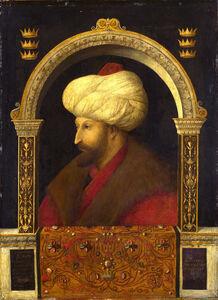 Portrait of Sultan Mehmet II