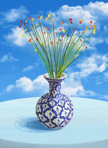 Flowers in Sunshine (framed)