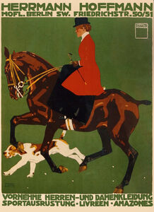 Herrmann Hoffman - Sporting Apparel - Horse and Dog