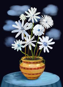 Flowers on the Full Moon