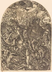 Saint John Sees the Four Horsemen
