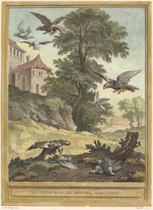 Les vautours et les pigeons (Vultures and Pigeons)