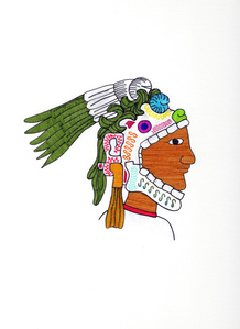 Guerrero Calavera (Calavera Warrior)