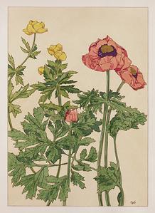 Floral Pochoir 2