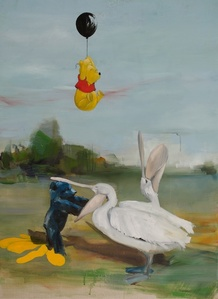 Bears and pelican