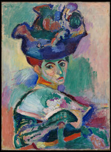 Femme au chapeau (Woman with a Hat)