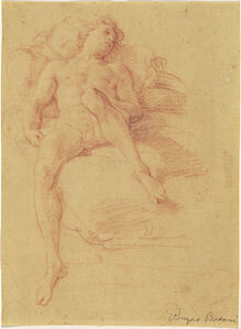 A Youth Reclining on a Bed (Antiochus)