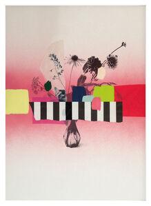 Paper Bouquet (pink + stripes)