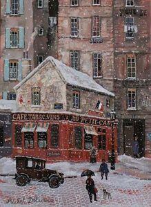 Le petit café de la rue Perronet