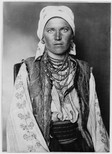 Ruthenian Woman from the former Kingdom of Ruthenian, which once covered an area from Ukraine to northern Romania