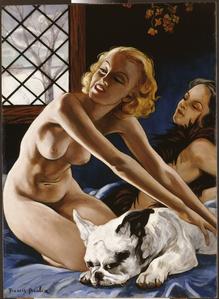 Femmes au bull-dog