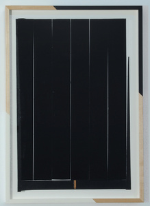 Untitled (Cream Gap and Black)