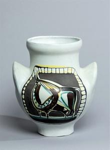 Vase à Oreilles Taureau