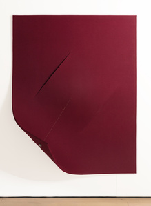 Work On Felt (Variation 18) Burgundy
