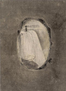 Woman with Waterfall