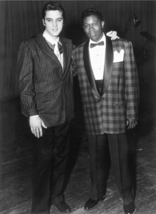 Brook Benton and Elvis Presley, WDIA Goodwill Revue, Ellis Auditorium, Memphis, TN, December 6, 1957