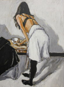 Dancer Taking a Cup