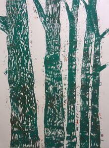 Woodblock no.2 (Green)