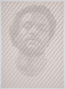 Chain-link Fence Portrait (John)