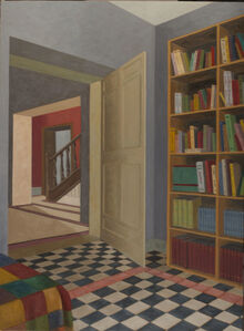 Interior with books