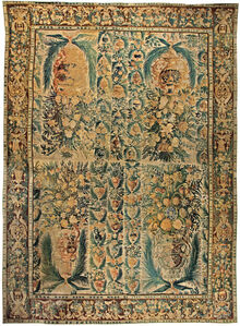 Antique Tapestry Rug, BB5773
