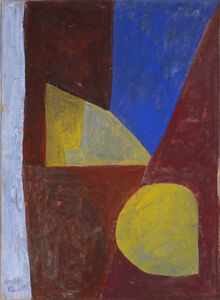 Composition abstraite (Red-Blue-Yellow)