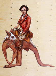 Riding to Mount Hopeless 1840 (From the Edward John Eyre Journals of Discovery series)