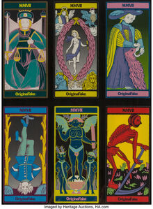 Six Original Fake Tarot Cards