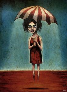 Return of the red dust girl