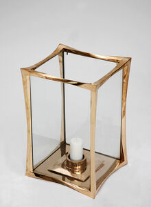 Photophore in Polished Bronze