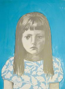 Girl 2, Blue Blue