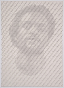 Chain-link Fence Portrait (John)
