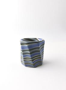 Neriage (marbleized) lid rest