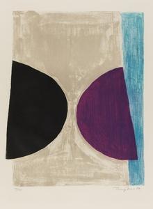 Black, Purple and Blue (Kemp 46)