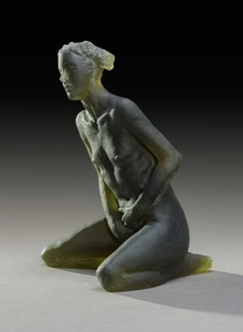 Untitled Scheile Figure (variation, kneeling)