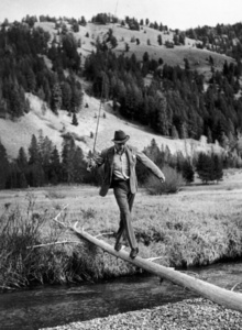 Gary Cooper in Sun Valley, Idaho