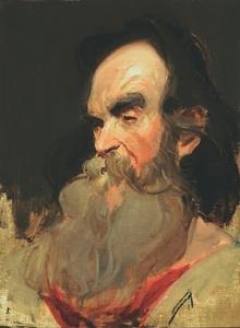 Study of a Mountain Man
