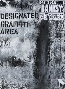 Designated Graffiti Area, Cash For Your Banksy