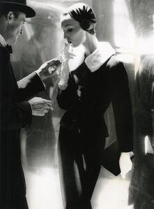 By Night, Shining Wool And Towering Heel, Suite By Handmacher, Evelyn Tripp, New York, Harper's Bazaar