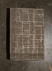 Graphite drawing on graphite block